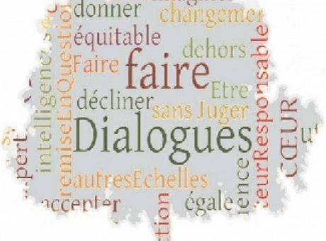 Logo Dialogue Dialogues en humanité L'association  (France)